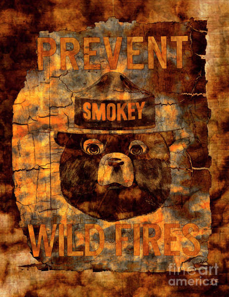 Wall Art - Photograph - Smokey The Bear Prevent Wild Fires by John Stephens