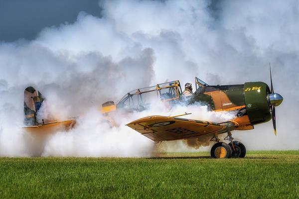 Harvard Propeller Photograph - Smokin' by Joann Long