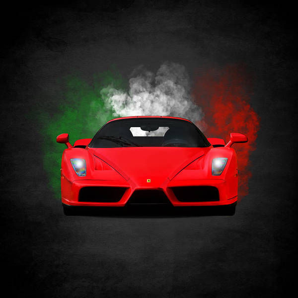Wall Art - Photograph - Smoking Hot Enzo by Mark Rogan