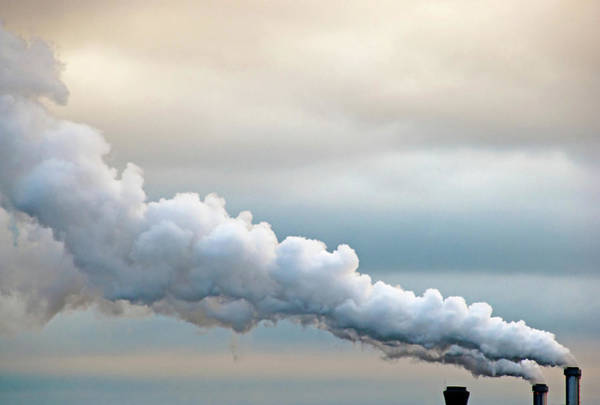 Pollution Photograph - Smoking In The Clouds by Jane Kerrigan