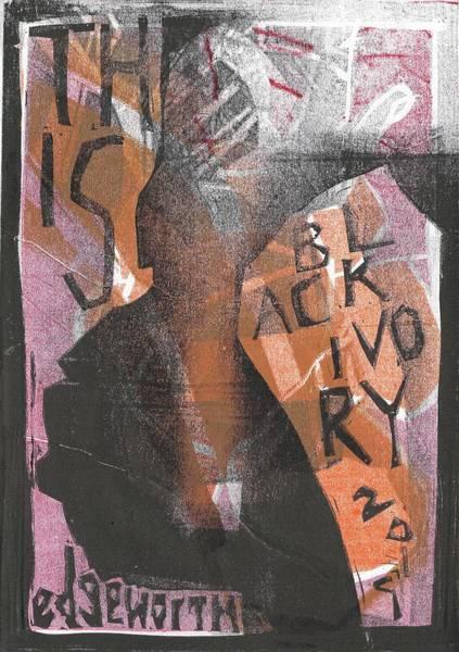 Wall Art - Relief - Smoking Man 1 by Artist Dot