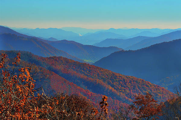 Photograph - Smoky Mountain Autumn by Greg Norrell