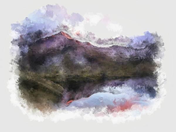 Digital Art - Smoky Mountain View by Mario Carini