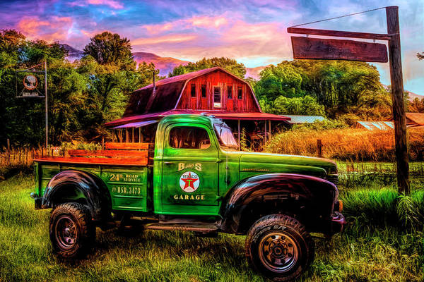 Wall Art - Photograph - Smoky Mountain Vintage In Hdr Detail by Debra and Dave Vanderlaan