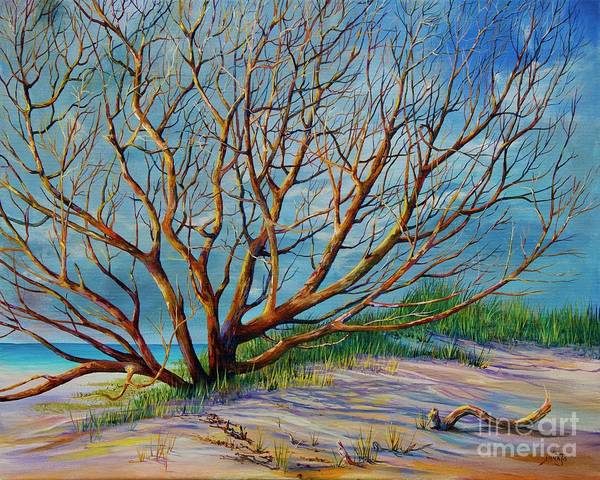 Painting - Smyrna Dunes by AnnaJo Vahle