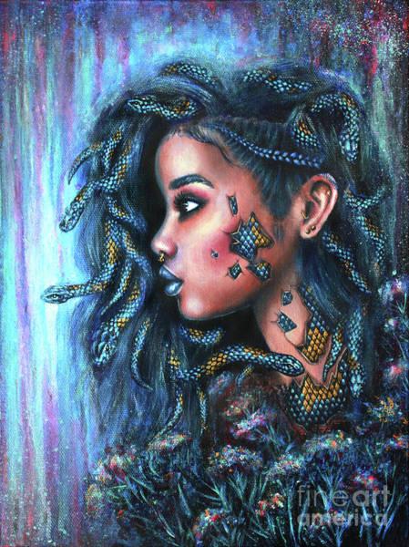 Wall Art - Painting - Snake Charmer by Olesya Umantsiva