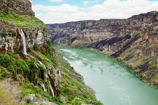 Snake Photograph - Snake River Canyon by Powerofforever