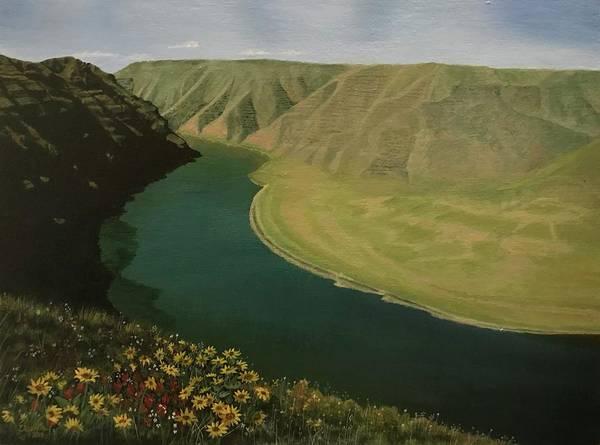 Painting - Snake River by Elizabeth Mundaden