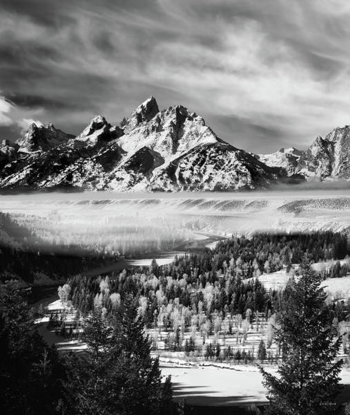 Photograph - Snake River Overlook by Leland D Howard