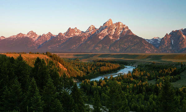 Photograph - Snake River Sunrise by Ronnie and Frances Howard