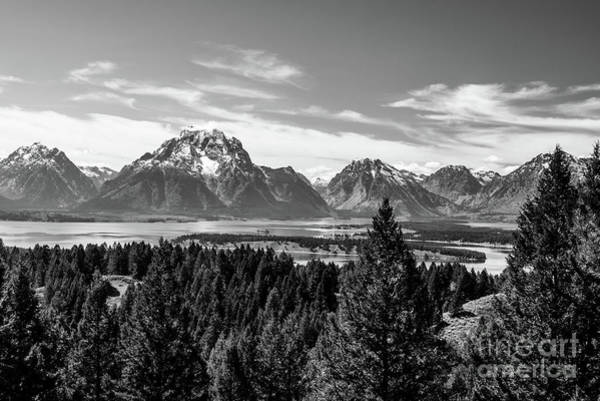 Photograph - Snake River Teton Mountains by Paul Quinn