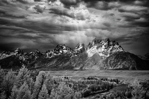 Photograph - Snake River Tetons II by Jon Glaser