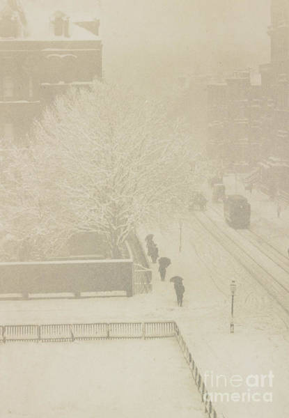 Wall Art - Photograph - Snapshot, From My Window, New York, 1907 by Alfred Stieglitz and Clarence White
