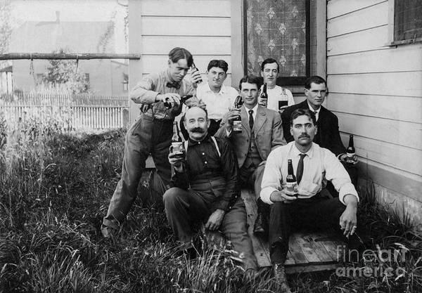 Drunk Photograph - Pour Dad A Beer by Jon Neidert