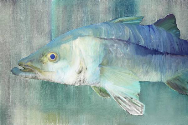 Digital Art - Snook Digital Painting by Gene Norris