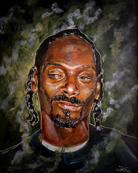 Painting - Snoop Dogg by Joel Tesch