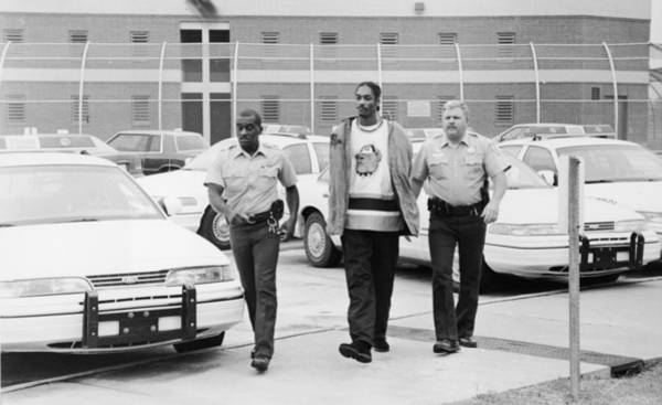 Police Force Photograph - Snoop Doggy Dogg In Police Custody by Hulton Archive