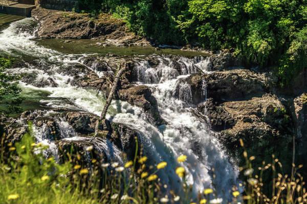 Photograph - Snoqualmie Falls In Washington by Alex Grichenko