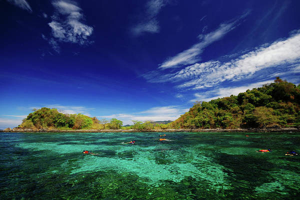 Snorkel Photograph - Snorkeling In Southern Thailand by Piriya Photography