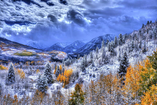 Wall Art - Photograph - Snow And Glow by David Ross