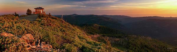 Oregon Ridge Photograph - Snow Camp Lookout by Leland D Howard