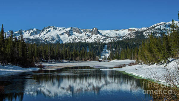 Wall Art - Photograph - Snow Capped Mammoth Lakes by Stephen Whalen