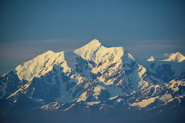 Wall Art - Photograph - Snow Capped Mountains  by Edward Garey