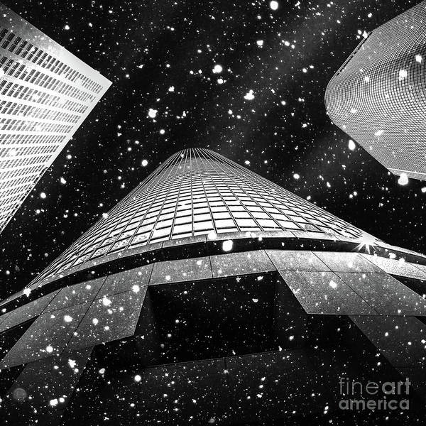 Architectural Digital Art - Snow Collection Set 01 by Az Jackson