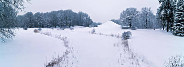 Photograph - Snow Covered Land Pyramid by Sun Travels
