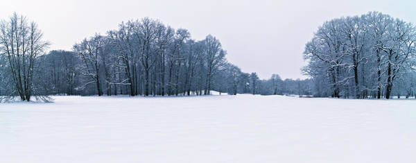 Photograph - Snow Covered Park by Sun Travels