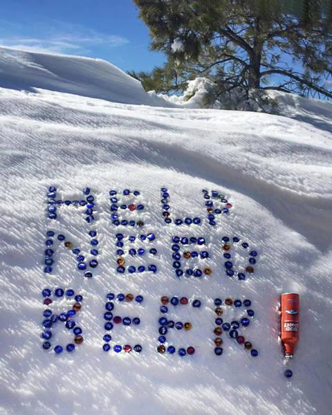 Wall Art - Photograph - Snow Drift Message by Dawn Key