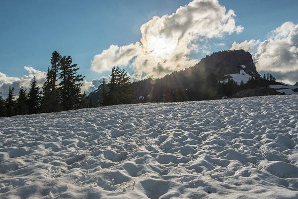 Photograph - Snow Field by Kristopher Schoenleber