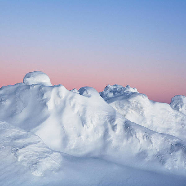 Wall Art - Photograph - Snow Formations by Roine Magnusson