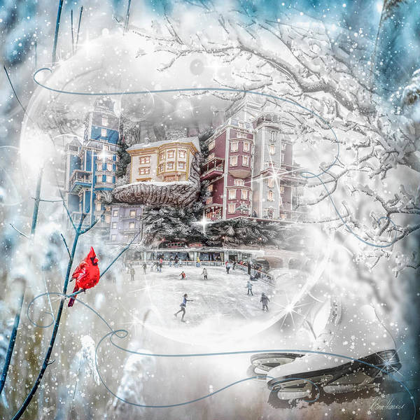 Photograph - Snow Globe by Diana Haronis
