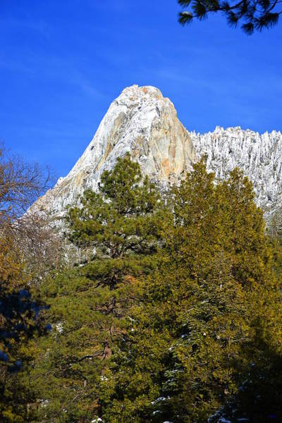 Photograph - Snow On Lily Rock - Idyllwild by Glenn McCarthy Art and Photography