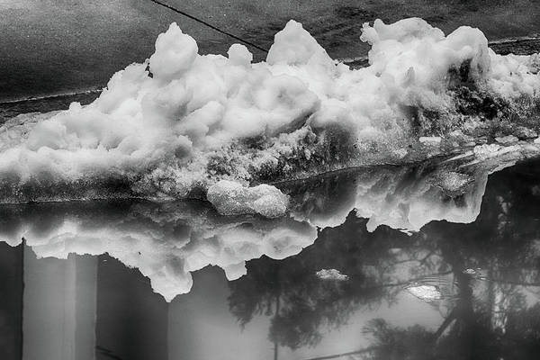 Photograph - Snow Reflections by Cate Franklyn