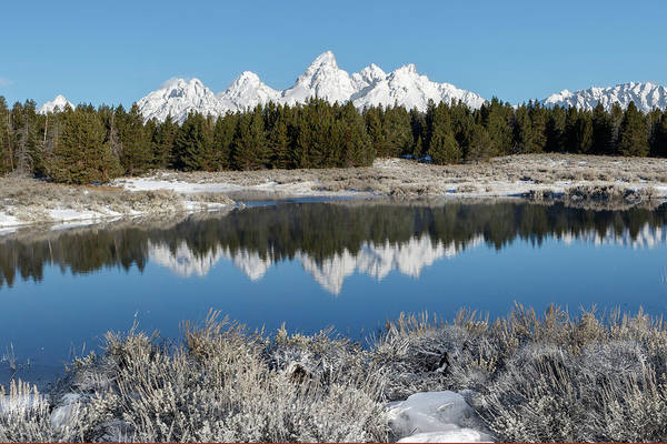 Photograph - Snow Reflections by Ronnie and Frances Howard