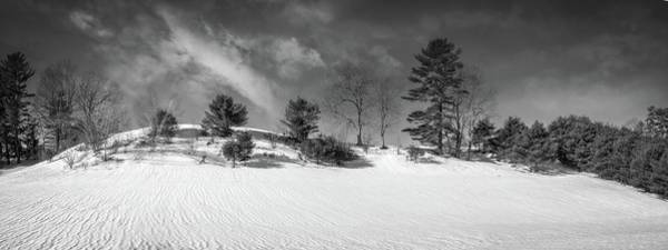 Photograph - Snow Ripples by Guy Whiteley