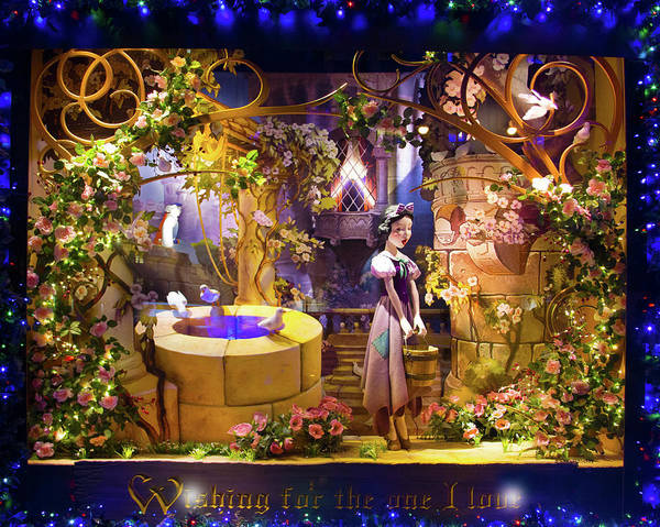 Wall Art - Photograph - Snow White Visits Saks Fifth Avenue by Mark Andrew Thomas