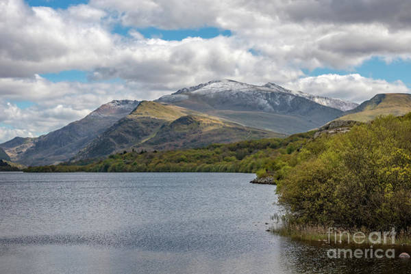 Photograph - Snowdon From Padarn Lake by Adrian Evans