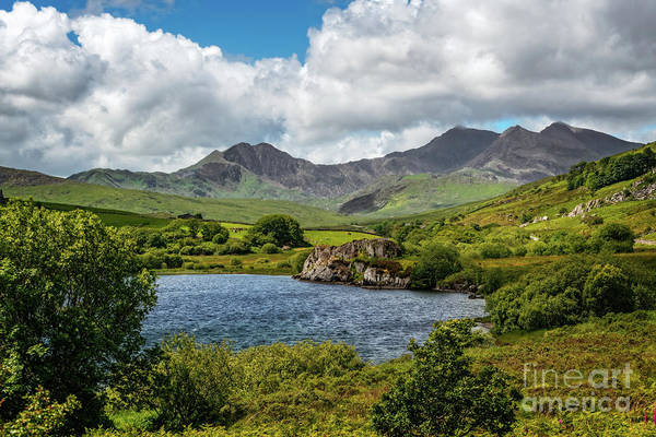Wall Art - Photograph - Snowdon Lake Landscape by Adrian Evans