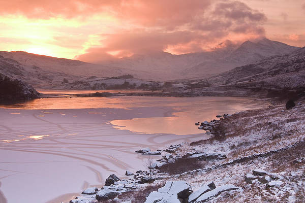 Wall Art - Photograph - Snowdon Sunset by Phil Corley   Goldenorfephotography