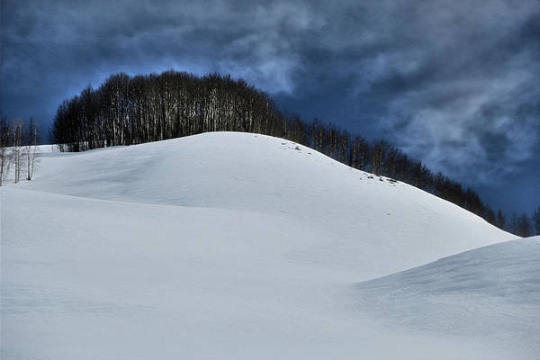 Photograph - Snowfields by Marie Leslie
