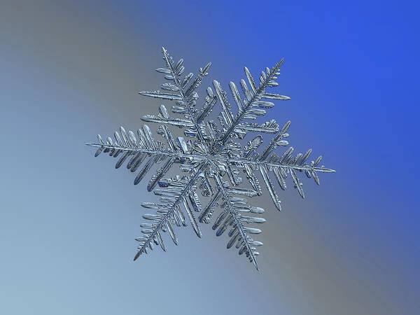 Photograph - Snowflake 2016-01-21 - 1 by Alexey Kljatov