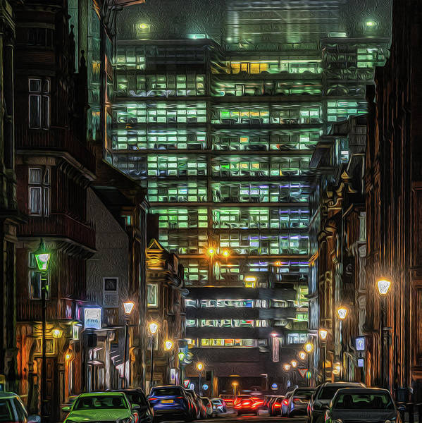 Wall Art - Photograph - Snowhill At Night by Chris Fletcher