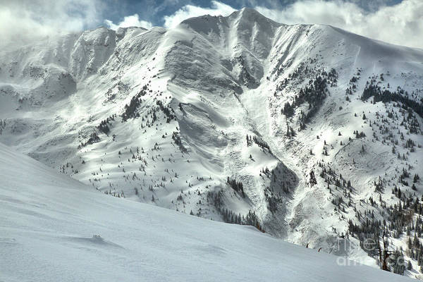 Photograph - Snowmass Mountain Peaks by Adam Jewell