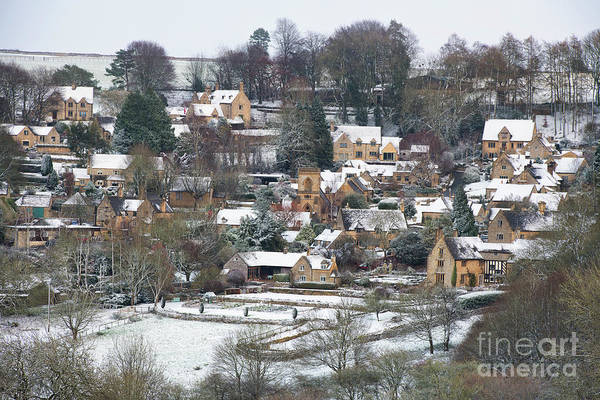 Wintry Photograph - Snowshill In Winter by Tim Gainey