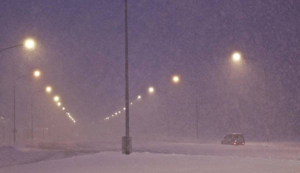 Reykjavik Photograph - Snowstorm by Arctic-images