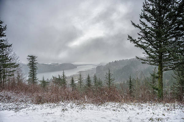 Photograph - Snowstorm In The Gorge by Craig Leaper