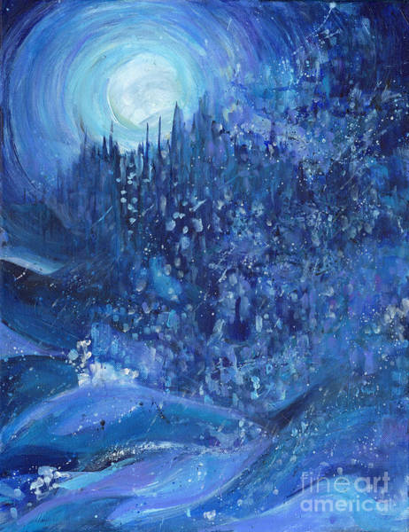 Painting - Snowstorm by Tanya Filichkin